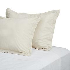 Funda para almohada algodón 50x70 cm beige