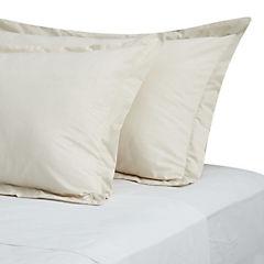 Funda para almohada algodón 50x90 cm beige