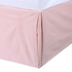 Faldón para cama 180 hilos King rosado