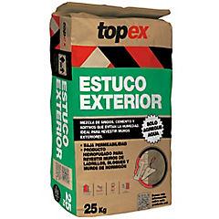 Topex estuco exterior 25 kg