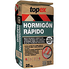 Topex hormigón rápido 25 kg