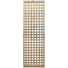 Cerco de malla de madera 0,6x2,0 m natural