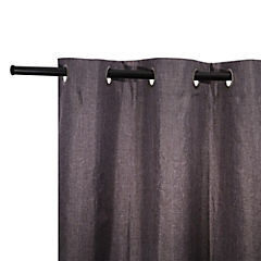 Cortina Black Out 140x230 cm gris