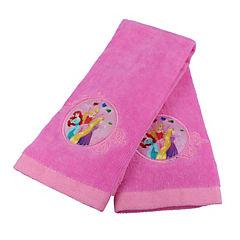 Set de 2 toallas de visita Princesas