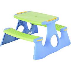 Mesa de pícnic infantil 19,5x90,5x50,5 cm