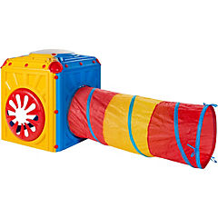 Cubo de actividades con túnel 14,5x79,5x70,5 cm