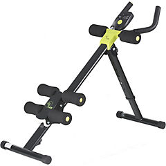 Máquina de ejercicios AB Cruncher negro