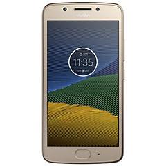 Smartphone Moto G5 dorado