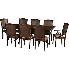 Comedor Budapest 6 sillas, 2 sitiales 200x100 cm