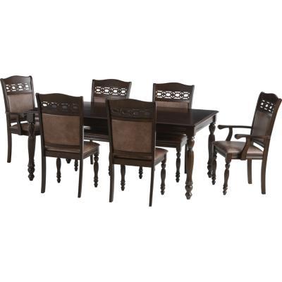 Comedor berl n 4 sillas 2 sitiales 180x100 cm for Comedor 4 sillas falabella