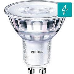 Pack 2 ampolleta LED GU10 vidrio 4.6-50 W luz cálida