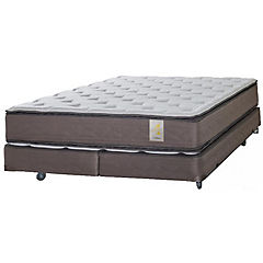 Box Spring 2 Plazas Long Base Dividida