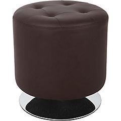 Pouff giratorio chocolate 42x43 cm