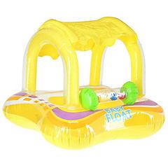 Flotador de aro plástico amarillo