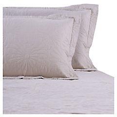 Quilt 2 plazas beige