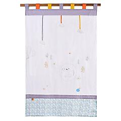 Cortina infantil Oveja 105x180 cm gris