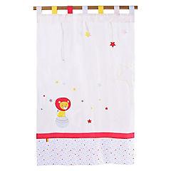 Cortina infantil Leon 105x180 cm rojo