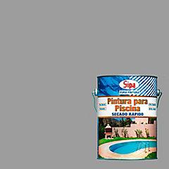 Pintura para Piscina secado rápido 1 galón Gris