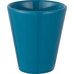 Macetero Vaso 11x12 cm turquesa