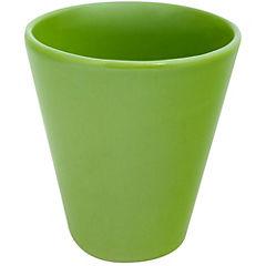 Macetero de cerámica 13x14 cm verde