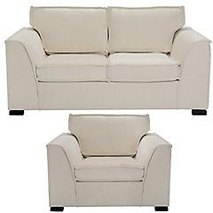 Juego de living Génova 2 cuerpos + sillón