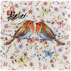 Servilletas 33x33 cm Country Birds