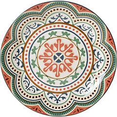 Plato ensalada circulos 22 cm Portugal