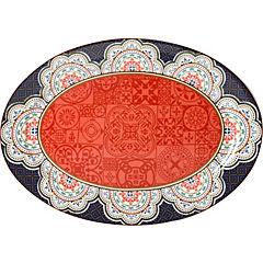 Plato ovalado 41x29x2,5 cm