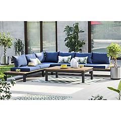 Alfombra terraza 180x120 cm Baker azul