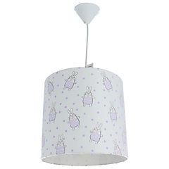 Lámpara Colgante Infantil Conejo 1 Luz 60 W