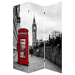 Separador London mapa/big ben 180x120 cm