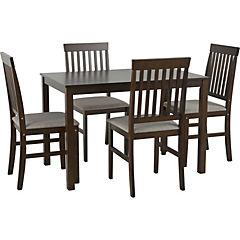 Comedor Zeta 4 silla 110x70x72 cm