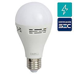 Ampolleta LED musical 8,5W E27 luz cálida