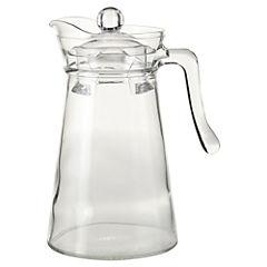 Jarra vidrio 1,3 litros con tapa