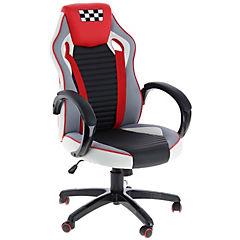 Silla PC Turbo Rojo