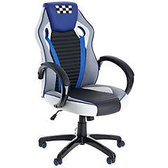Silla PC Turbo azul