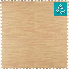 Alfombra Puzzle madera 60x60 cm 4 piezas