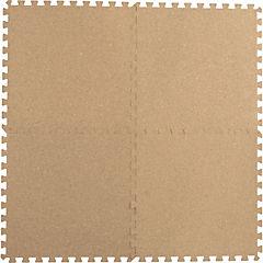 Alfombra Puzzle corcho 60x60 cm 4 piezas