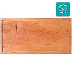 Tabla para picar madera 20x30 cm Café