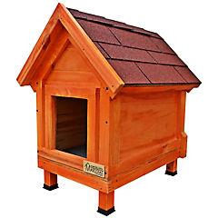 Casa para perro 70x40x60 cm