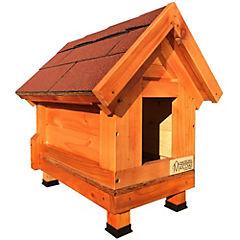 Casa para perro 60x30x50 cm