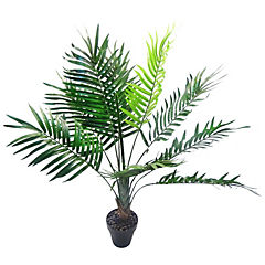 Planta decorativa artificial mini Palmera 70 cm