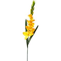Gladiolo artificial 107 cm amarillo
