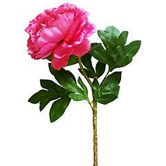 Flor peonia purpura 69 cm
