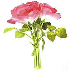 Ramo rosas rosado 6 cm