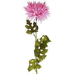 Crisantemo artificial 74 cm rosado