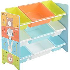 Organizador 9 cajas 84x30 Zoo