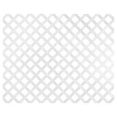 Enrejado para jardín de polietileno 122x244 cm Blanco