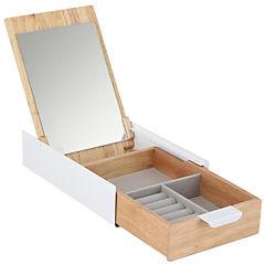 Caja organizadora accesorios con espejo