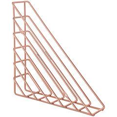 Repisa triangular líneas cobre